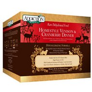 Addiction Homestyle Venison & Cranberry Dinner Raw Dehydrated Dog Food, 8-lb box