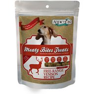 Addiction Meaty Bites Venison Dog Treats, 12-oz bag