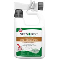 Vet's Best Flea + Tick Yard & Kennel Spray for Dogs & Cats, 32-oz bottle