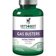 Vet's Best Gas Busters Dog Supplement, 90 count