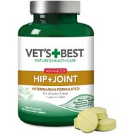 Vet's Best Advanced Hip + Joint Dog Supplement, 90 count
