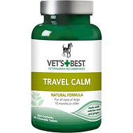 Vet's Best Travel Calm Dog Supplement, 40 count