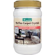NaturVet No Flea Carpet Crystal Powder, 2-lb jar