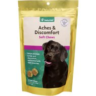 NaturVet Aches & Discomfort Dog Soft Chews, 30 count