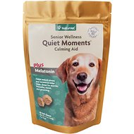 NaturVet Senior Care Quiet Moments Calming Dog Soft Chews, 65 count