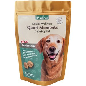 NaturVet Senior Care Quiet Moments Calming Dog Soft Chews