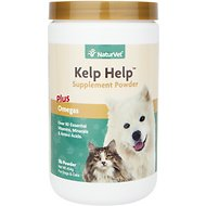 NaturVet Kelp Help Mineral & Vitamin Dog & Cat Powder Supplement, 1-lb