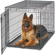 MidWest LifeStages Single Door Dog Crate, 48-in