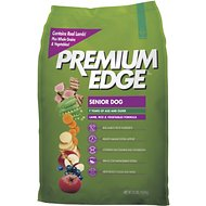 Premium Edge Senior Lamb, Rice & Vegetables Formula Dry Dog Food, 35-lb bag