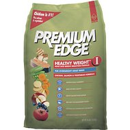 Premium Edge Healthy Weight I Weight Reduction Formula Dry Dog Food, 35-lb bag