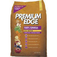 Premium Edge Puppy Small & Medium Breed Chicken, Rice & Vegetables Formula Dry Dog Food, 35-lb bag