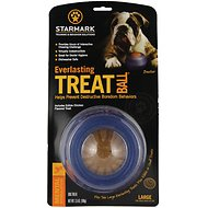 Starmark Everlasting Treat Ball Dog Chew Toy, Large