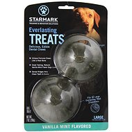 Starmark Everlasting Treats Vanilla Mint Flavor Dog Dental Chews, Large