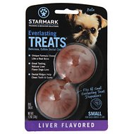 Starmark Everlasting Treats Liver Flavor Dog Dental Chews, Small