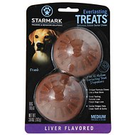 Starmark Everlasting Treats Liver Flavor Dog Dental Chews, Medium