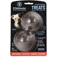 Starmark Everlasting Treats Natural Hickory Smoke Flavor Dog Dental Chews, Medium
