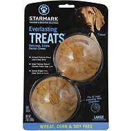 Starmark Everlasting Treats Wheat, Corn & Soy Free Flavor Dog Dental Chews, Large