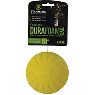 Starmark Fantastic DuraFoam Ball Dog Toy, Large