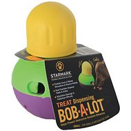 Starmark Treat Dispensing Bob-a-Lot Dog Toy, Small