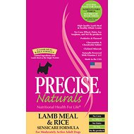 Precise Naturals Lamb Meal & Rice Sensicare Formula Dry Dog Food, 5-lb bag