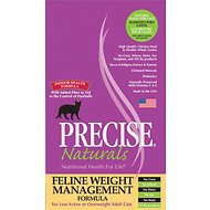 Precise Naturals Weight Management Formula Dry Cat Food, 6-lb bag