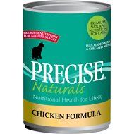 Precise Naturals Chicken Formula Canned Cat Food, 13.2-oz, case of 12