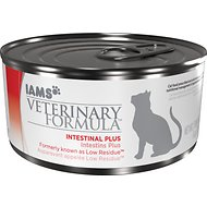 Iams Veterinary Formula Intestinal Plus Low-Residue Canned Cat Food, 6-oz, case of 12
