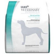 Iams Veterinary Formula Skin & Coat Plus Response KO Dry Dog Food, 30-lb bag