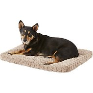 MidWest Quiet Time Ombre Swirl Dog & Cat Bed, Taupe, 30-inch