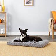 MidWest Quiet Time Ombre Swirl Dog & Cat Bed, Grey, 36-inch