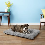 MidWest Quiet Time Ombre Swirl Dog & Cat Bed, Grey, 42-inch