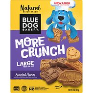 Blue Dog Bakery More Flavors Assorted Dog Treats, 20-oz box