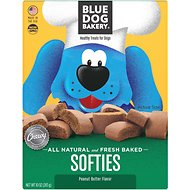 Blue Dog Bakery Softies Peanut Butter Dog Treats, 10-oz box