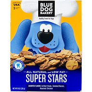 Blue Dog Bakery Super Stars Assorted Flavors Dog Treats, 10-oz box