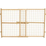 MidWest Wood/Wire Mesh Pet Gate, 24-inch