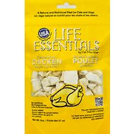 Cat-Man-Doo Life Essentials Chicken Freeze-Dried Cat & Dog Treats, 2-oz bag