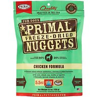 Primal Chicken Formula Nuggets Grain-Free Freeze-Dried Dog Food, 5.5-oz bag