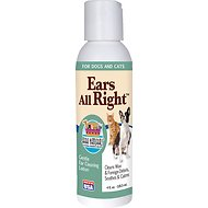 Ark Naturals Ears All Right Dog & Cat Gentle Cleaning Lotion, 4-oz bottle