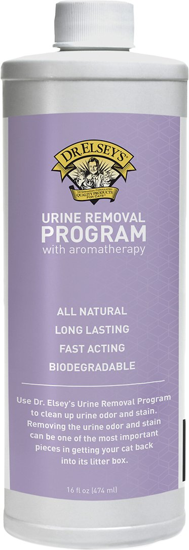 Dr  Elsey's Precious Cat Urine Removal Program with Aromatherapy, 16-oz  bottle