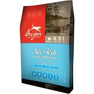 Orijen 6 Fish Grain-Free Formula Dry Dog Food, 28.6-lb bag