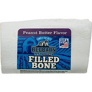 Redbarn Small Peanut Butter Filled Bones Dog Treats, 2.5-in chew, 1 count