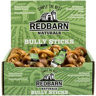 "Redbarn Naturals Bully Springs 6"" Dog Treats, Case of 25"
