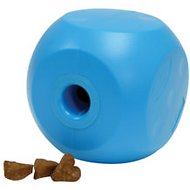 OurPets Buster Food Cube Dog Toy, Color Varies, Small
