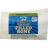 Redbarn Small Lamb Filled Bones Dog Treats, 2.5-in chew, 1 count
