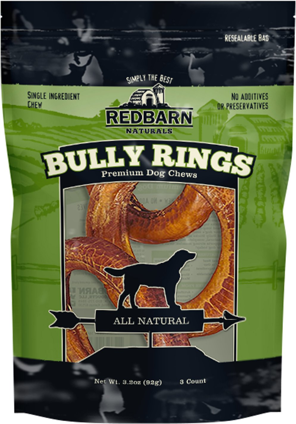 Bully Stick Rings for Dogs