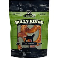 Redbarn Naturals Bully Ring Dog Treats, 3 count