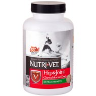 Nutri-Vet Hip & Joint Extra Strength Dog Chewables, 75 count