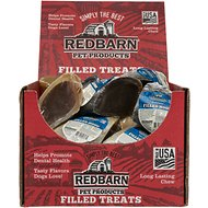 Redbarn Beef Filled Cow Hooves Dog Treats, Case of 25