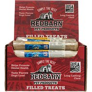 Redbarn Chicken Filled Rolled Rawhide Dog Treats, 6-in chew, case of 24