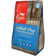 Orijen Adult Grain-Free Freeze-Dried Dog Food, 16-oz bag